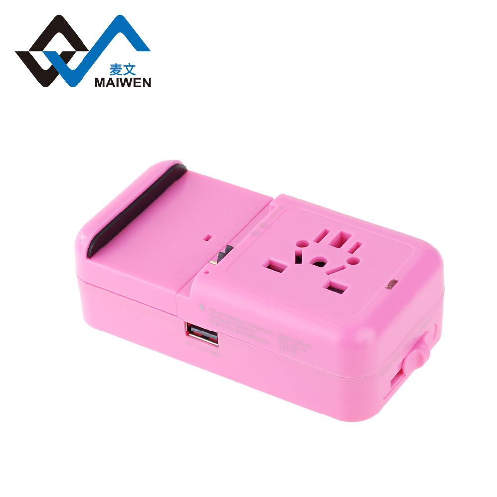 多功能旅行轉換插座USB2.1A手機鋰電池充電座充 4