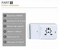 多功能旅行转换插座USB2.1A手机锂电池充电座充 7