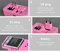 多功能旅行转换插座USB2.1A手机锂电池充电座充 9