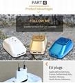多国转换插座插头 新款时尚车型插座 热销单品 10
