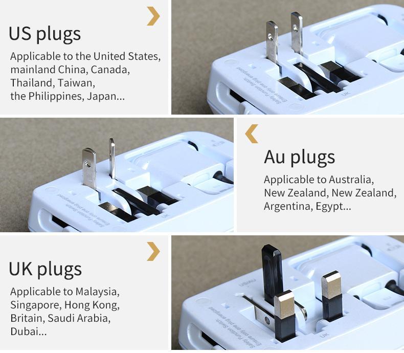 多国转换插座插头 新款时尚车型插座 热销单品 11