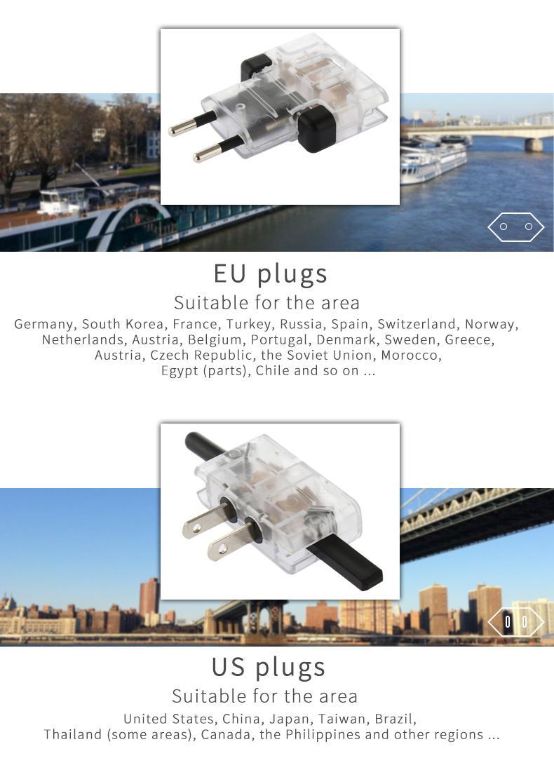 Mini World Travel Adapter 8