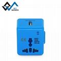 Muti-function Mini World Travel Adapter 5