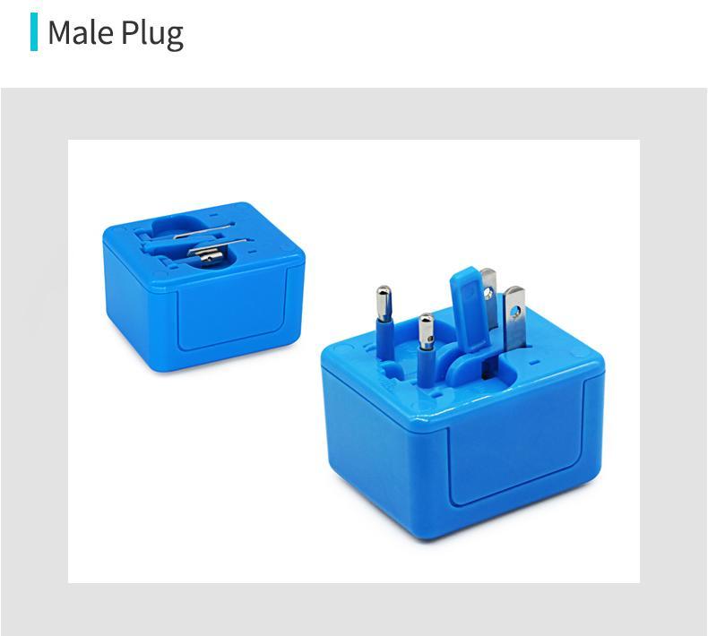 Muti-function Mini World Travel Adapter 7