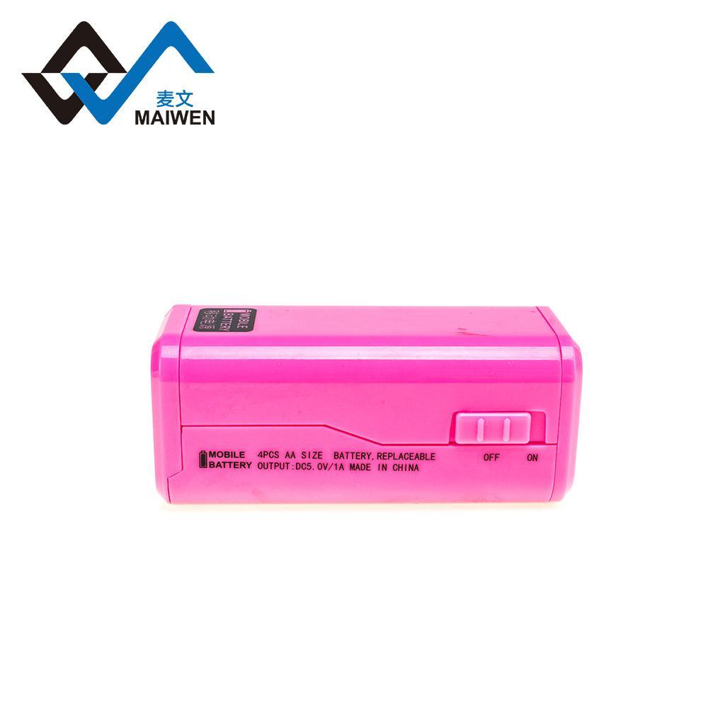 4pcs AA battery power bank 4