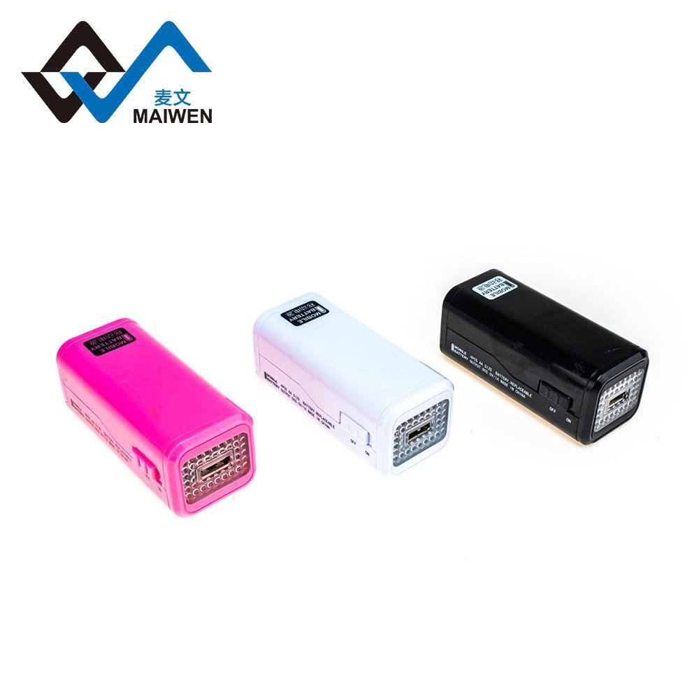 4节5号电池型应急移动电源 7