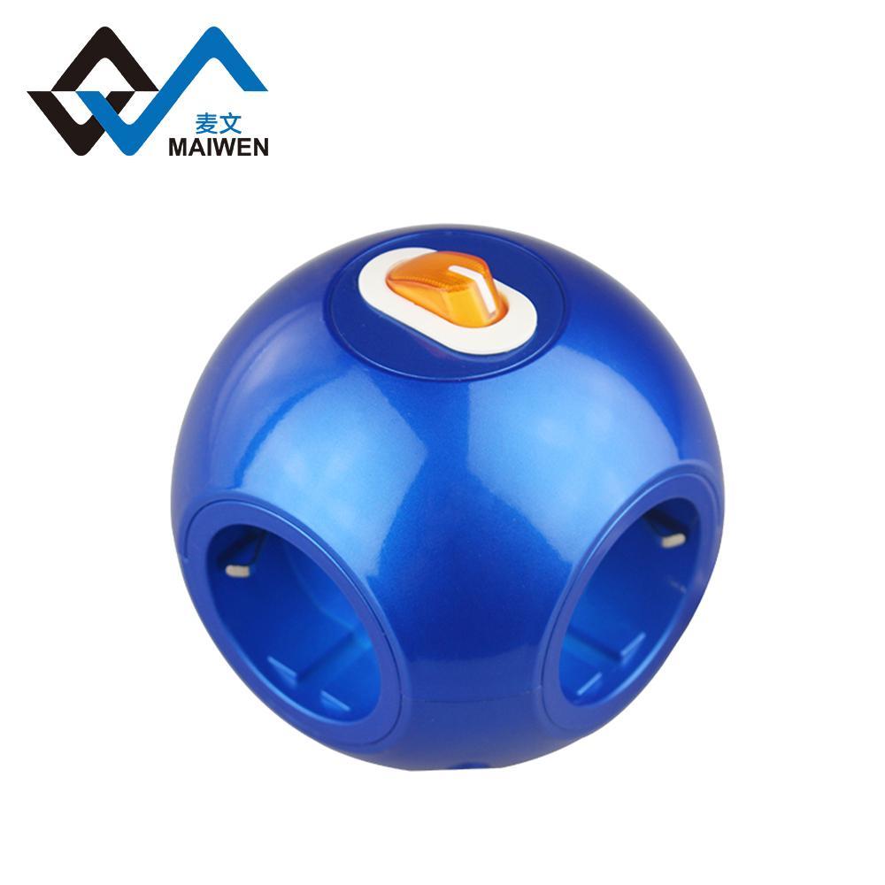 球形3USB欧式排插 1