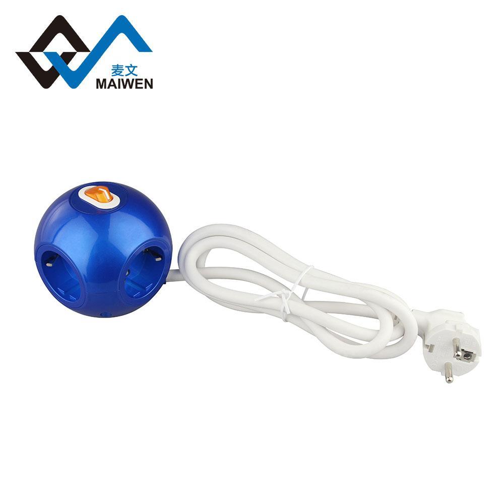 球形3USB欧式排插 7