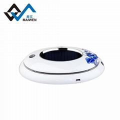 Famous flowers series solar car air purifier