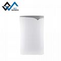 Triple screen high efficiency air purifier with uv sterilization function