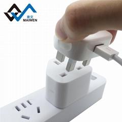 港版轉換插頭蘋果iPhone7/6S/iPad香港港行充電器轉換器插座
