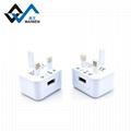 英規 2.1A單USB接口充電