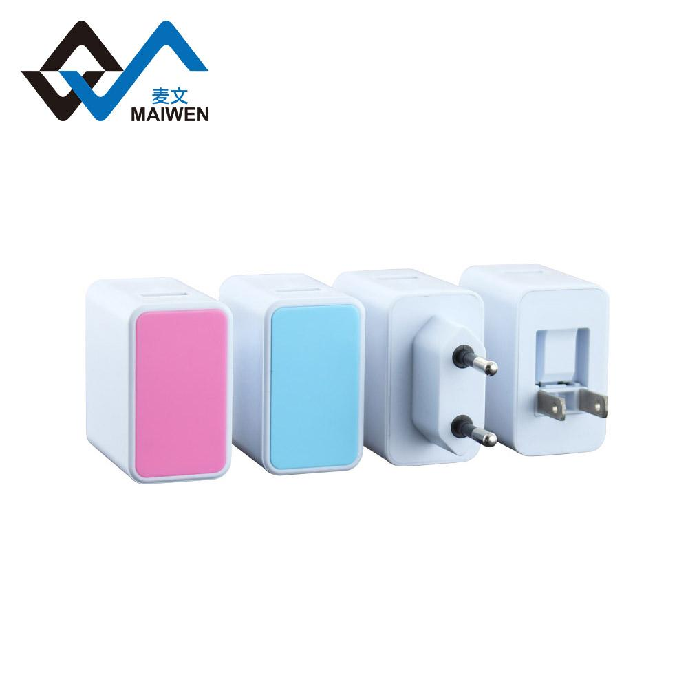 欧规USB充电器  2.1A单USB接口 大功率电流输出 2