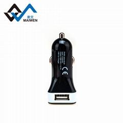 Square Shape USB Car Charger