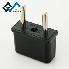 美规/日规插孔转欧规4.8mm插头转换器
