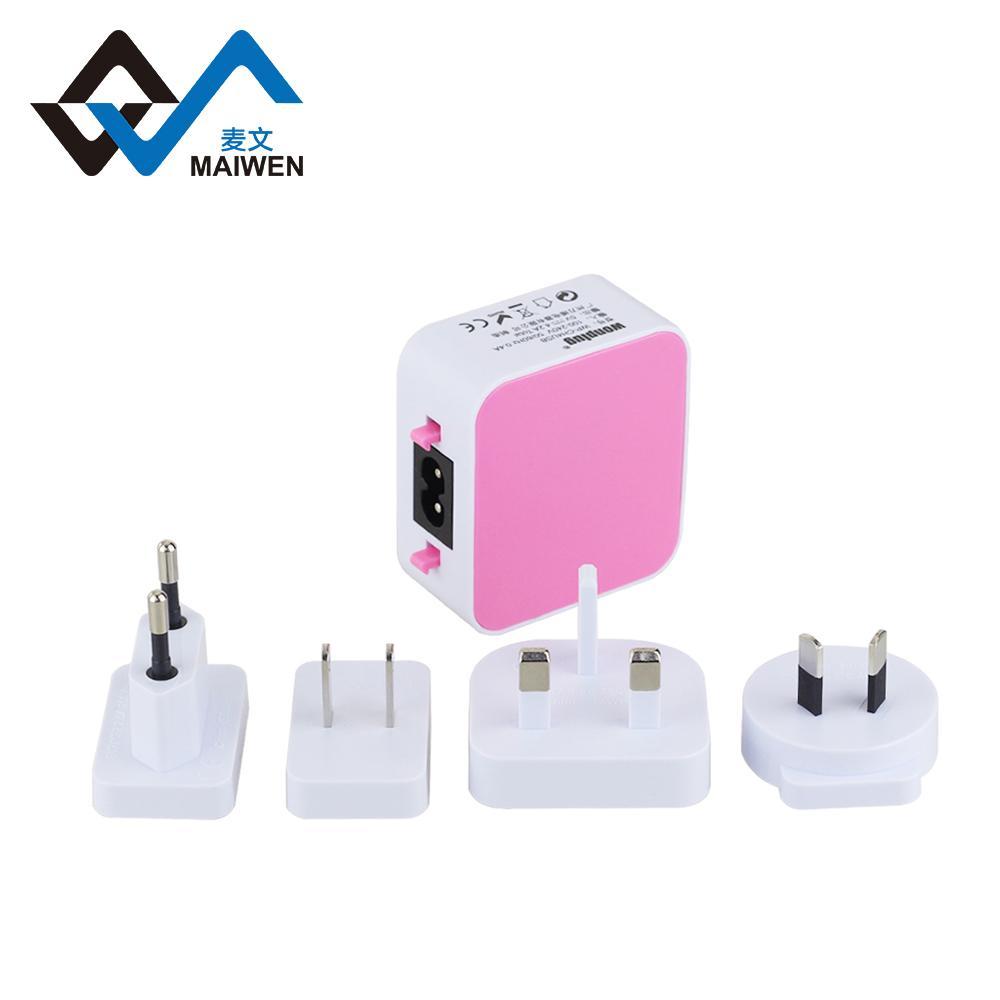 全球通USB充电器4个USB2.1A 14