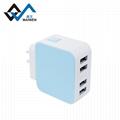 全球通USB充电器4个USB2.1A 16