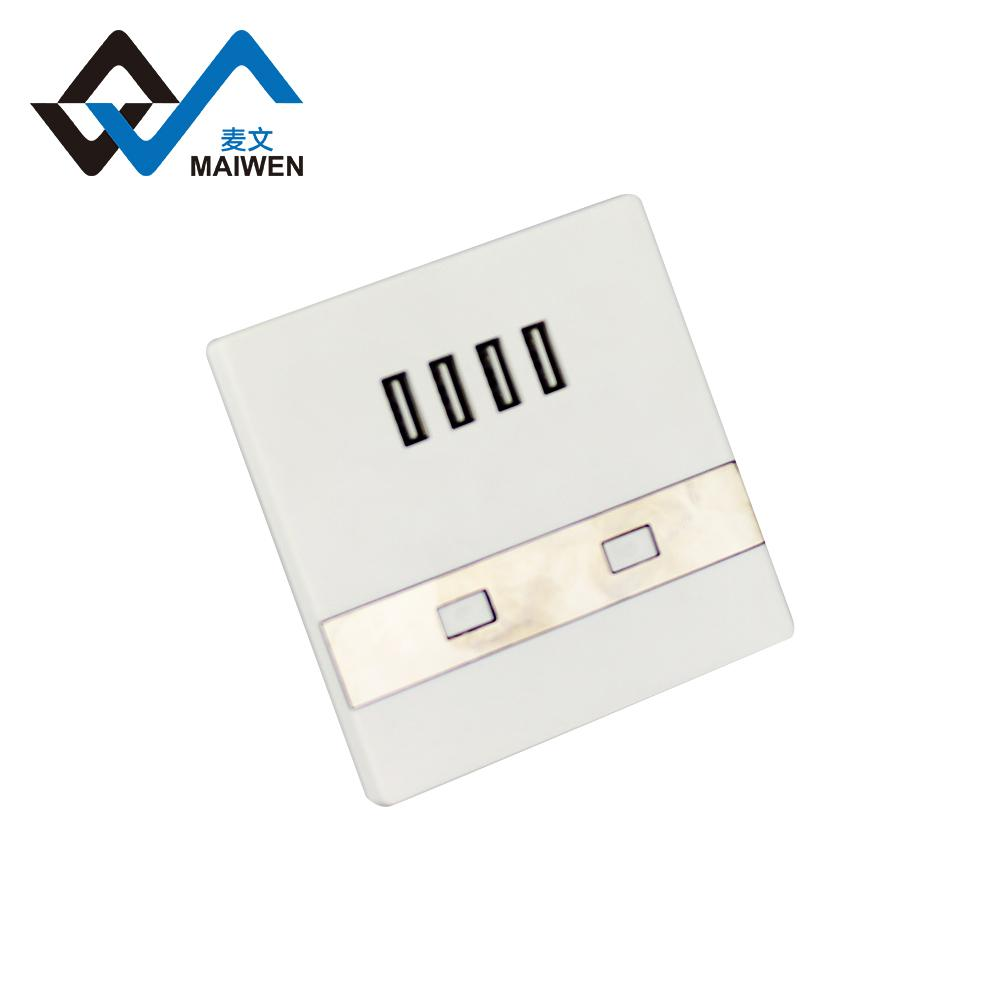 switch wall socket with 4 usb port type Maiwen -86 4