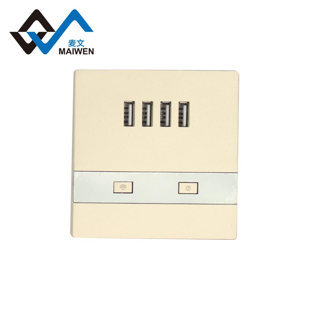 switch wall socket with 4 usb port type Maiwen -86 6