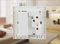 英规86型双USB墙面插座 开关插座 7