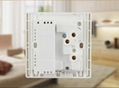 英规86型双USB墙面插座 开关插座
