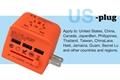 2018 the new 3 USB multinational general transform plugs 16