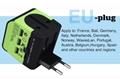 2018 the new 3 USB multinational general transform plugs 18