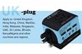 2018 the new 3 USB multinational general transform plugs 19