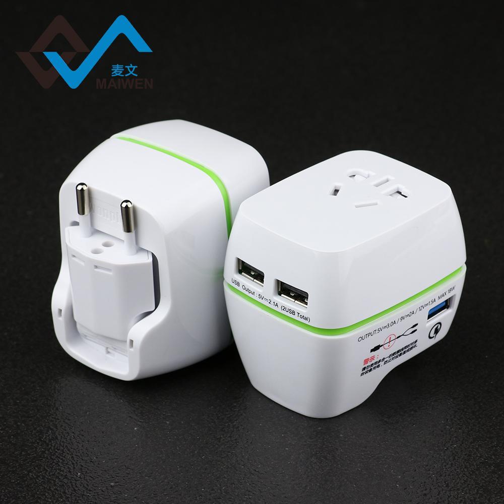 2018新的USB多功能转换插头USB快速充电 4