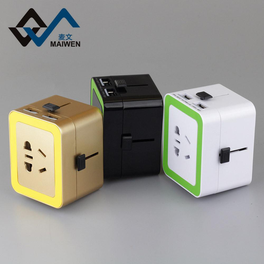 The British Hong Kong converter plug converter Double USB charger 5