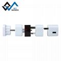 multi-function multinational USB travel adapter 3