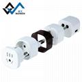 multi-function multinational USB travel adapter 5