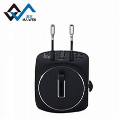 2 usb multifunctional conversion socket The multinational custom converter