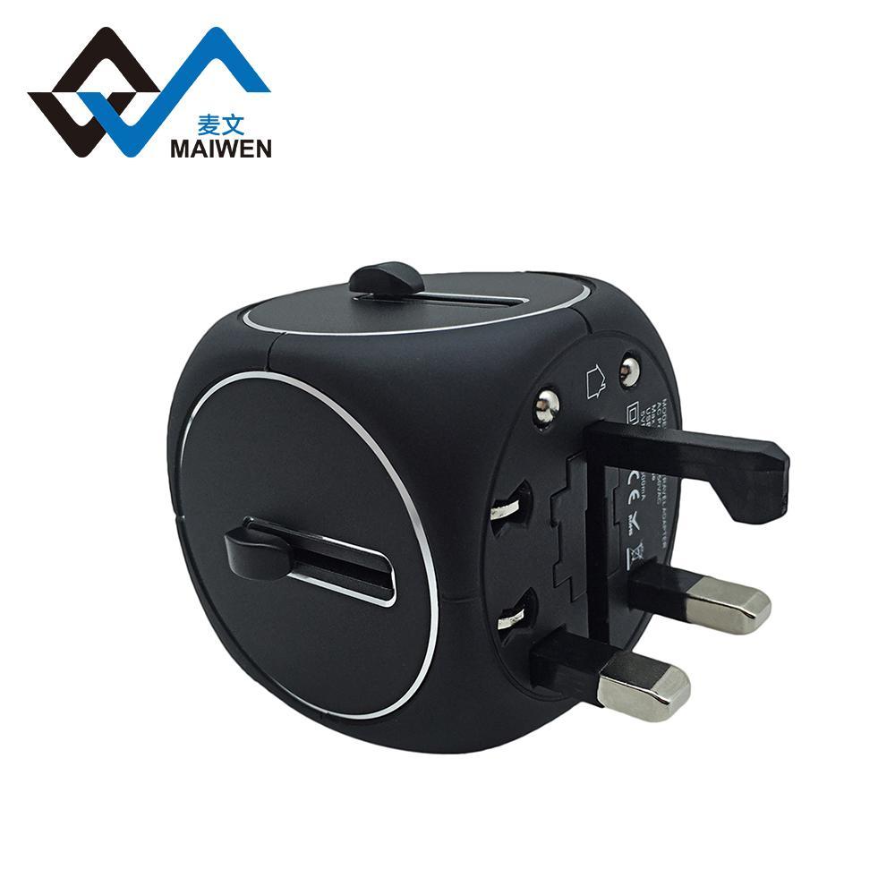 2USB多功能转换插座 多国转换器定制 2