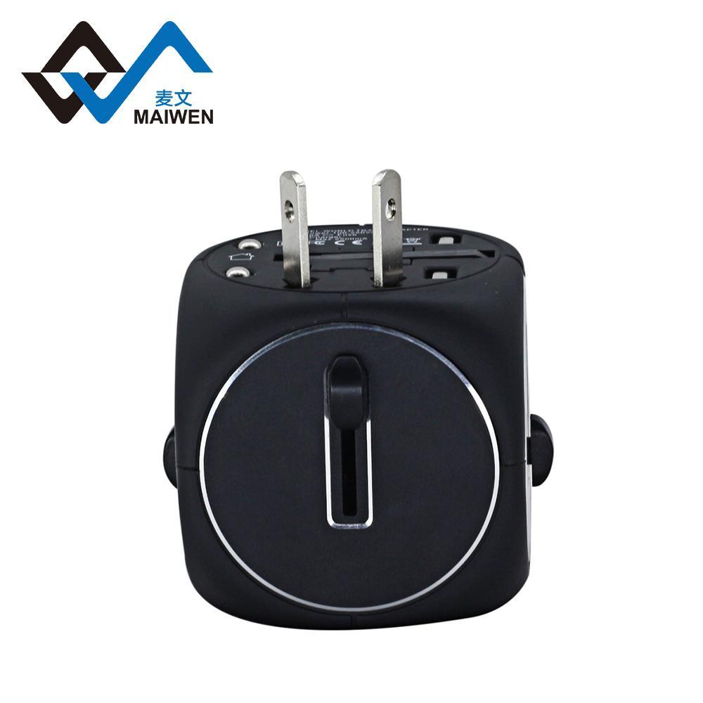 2USB多功能转换插座 多国转换器定制 4