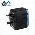 4USB多功能转换插头 USB充电器多国通插头 7