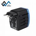 4USB多功能转换插头 USB充电器多国通插头 8