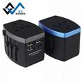4USB多功能转换插头 USB充电器多国通插头 11