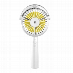 Beauty nanometer moisturizing portable small fan with usb charging interface