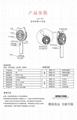 Cat head spray moisturizing fan Outdoor cooling USB charging small fan 9