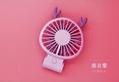 Korean style USB mini folding fan 270 degrees little devil rechargeable 13
