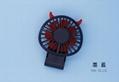 Korean style USB mini folding fan 270 degrees little devil rechargeable 12