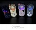 夜灯超薄小风扇便携式 USB充电 背隐藏支架 日式可爱治愈多挡风 8