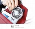 夜灯超薄小风扇便携式 USB充电 背隐藏支架 日式可爱治愈多挡风 5
