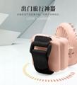 Portable USB bag fan handheld multi-function folding angle adjustment 4