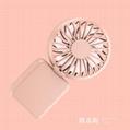 Portable USB bag fan handheld multi-function folding angle adjustment 11