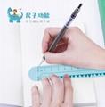 儿童卡通手表啪啪带尺子风扇萌趣卡通自动调节手腕创意学生小风扇 6