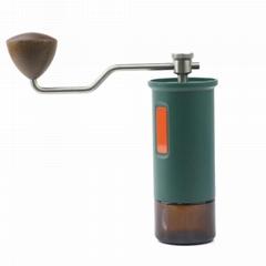 工厂手动咖啡研磨机锥形不锈钢毛刺便携式手摇咖啡研磨机