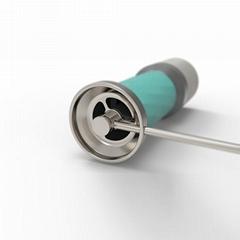 雙刀盤設計手磨咖啡豆研磨機便攜式咖啡研磨機定製