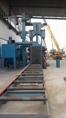 DTQH系列輥道通過式鋼結構拋丸清理機
